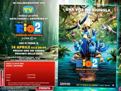 rio 2 Missione Amazzonia
