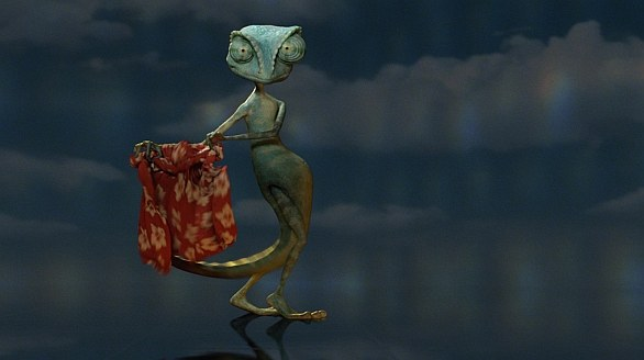 Rango Animated Cartoon