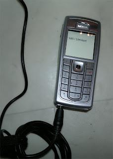 Nokia 6230i som saknar sim-kort