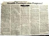 Artikel Kepemimpinan tahun 2002