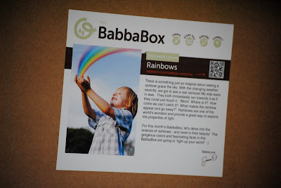 BabbaBox activities for kids