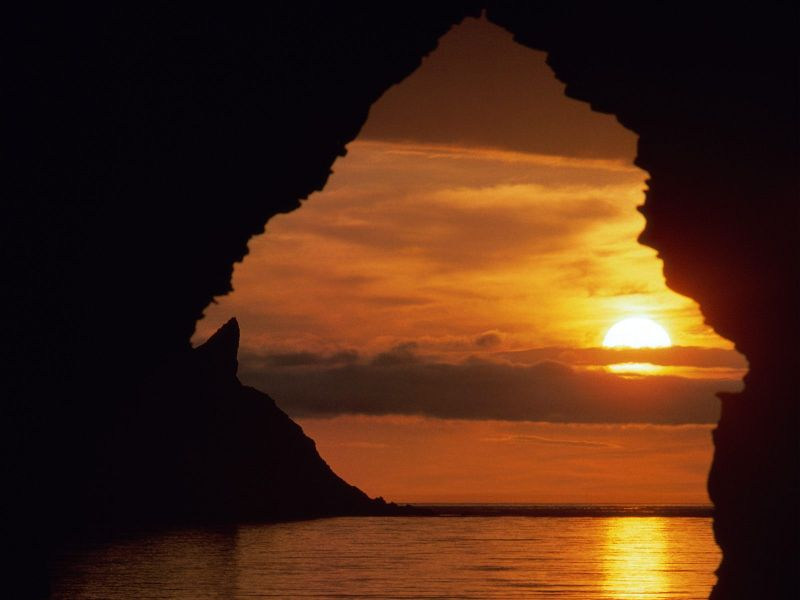 Virtual world of blogging most beautiful sunsets pictures for Sfondi desktop tramonti mare