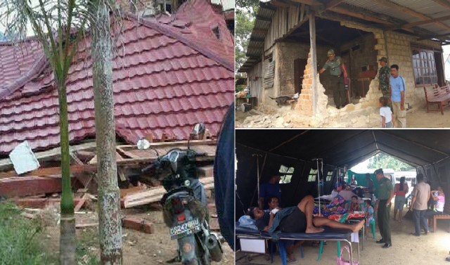 Gambar Foto Gempa di Sorong Papua