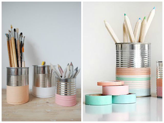 Recycled Cans Washi Tape DIY