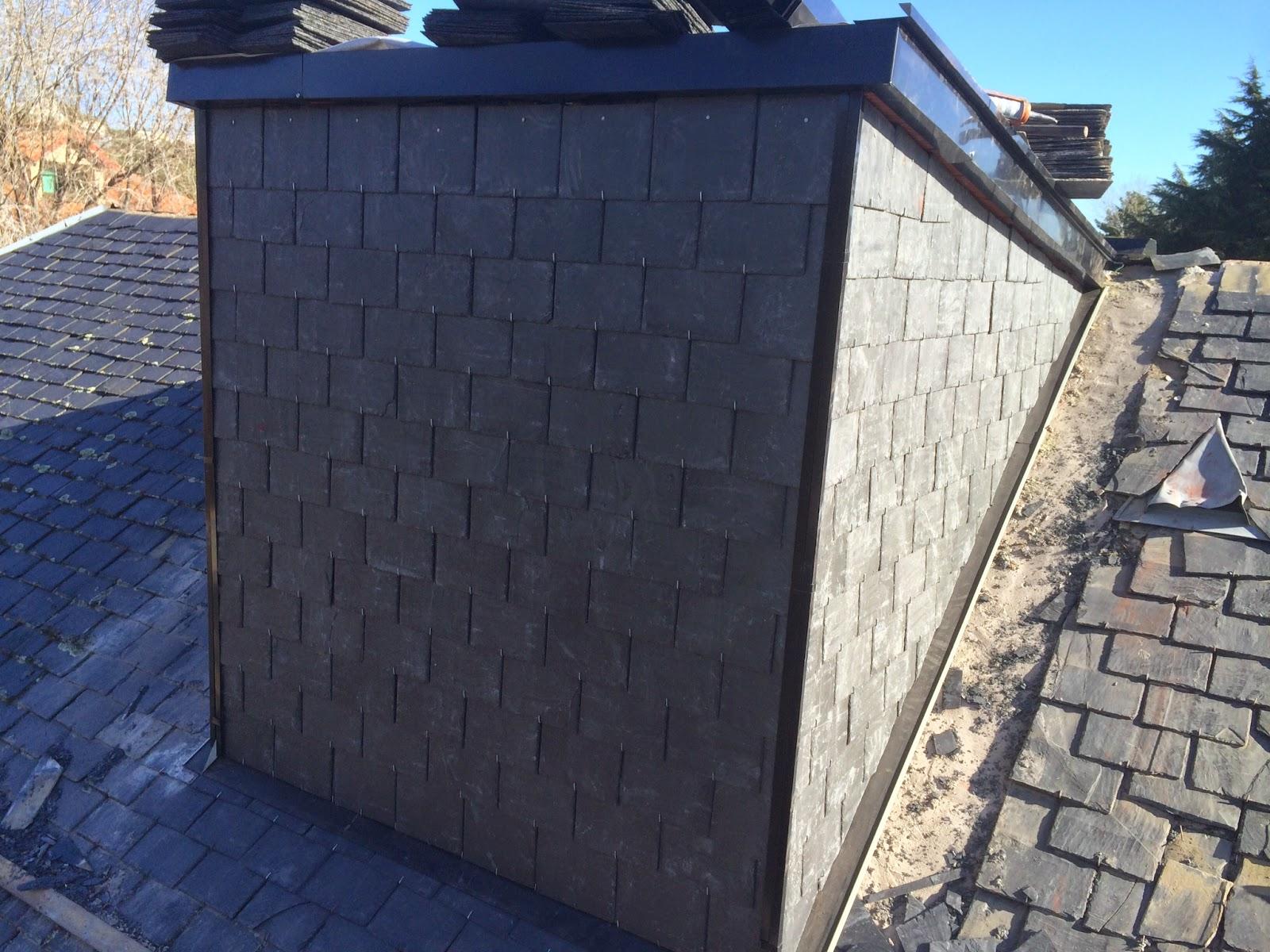 Reparacion de tejados de pizarra san jos enero 2015 - Tejado de pizarra ...