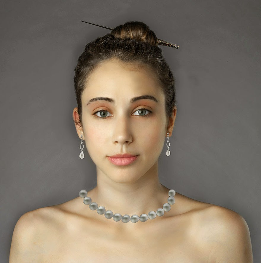 CHILE - Woman Had Her Face Photoshopped In More Than 25 Countries To Compare Their Beauty Standards