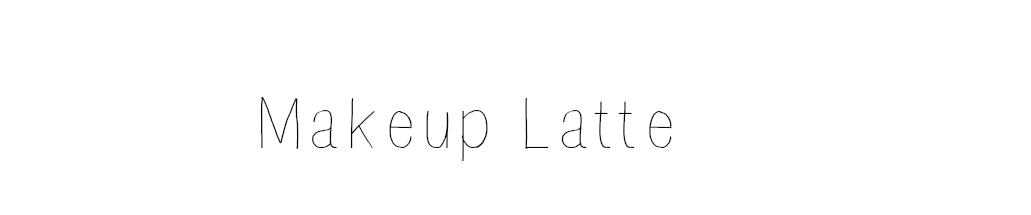Makeup Latte