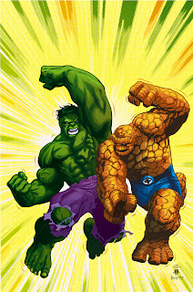 Incredible Hulk vs The Thing