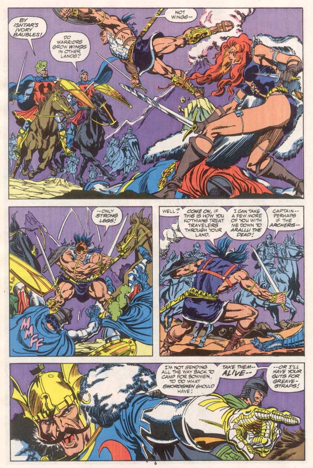Conan the Barbarian (1970) Issue #244 #256 - English 6