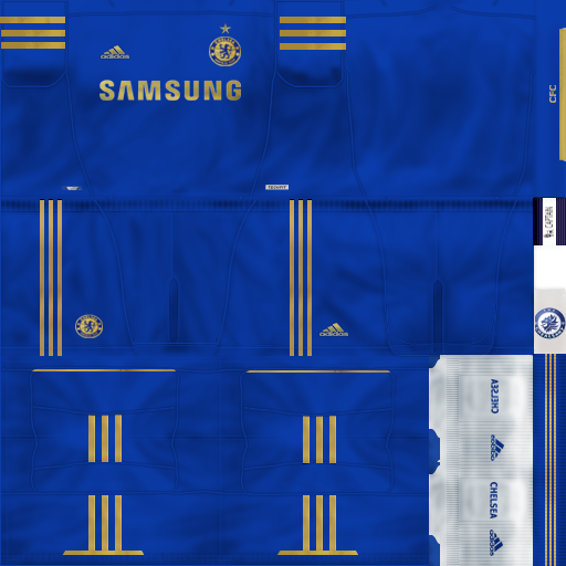 Uniforme Chelsea 2012 2013 By Chealsawy   PES 6