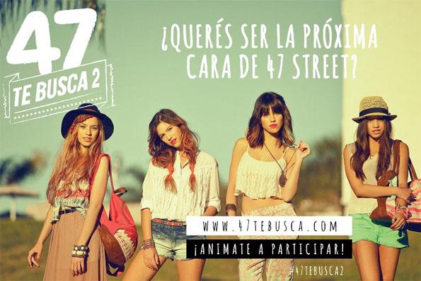 47 Street te busca, Casting 47 Street 2013.Moda 2013-