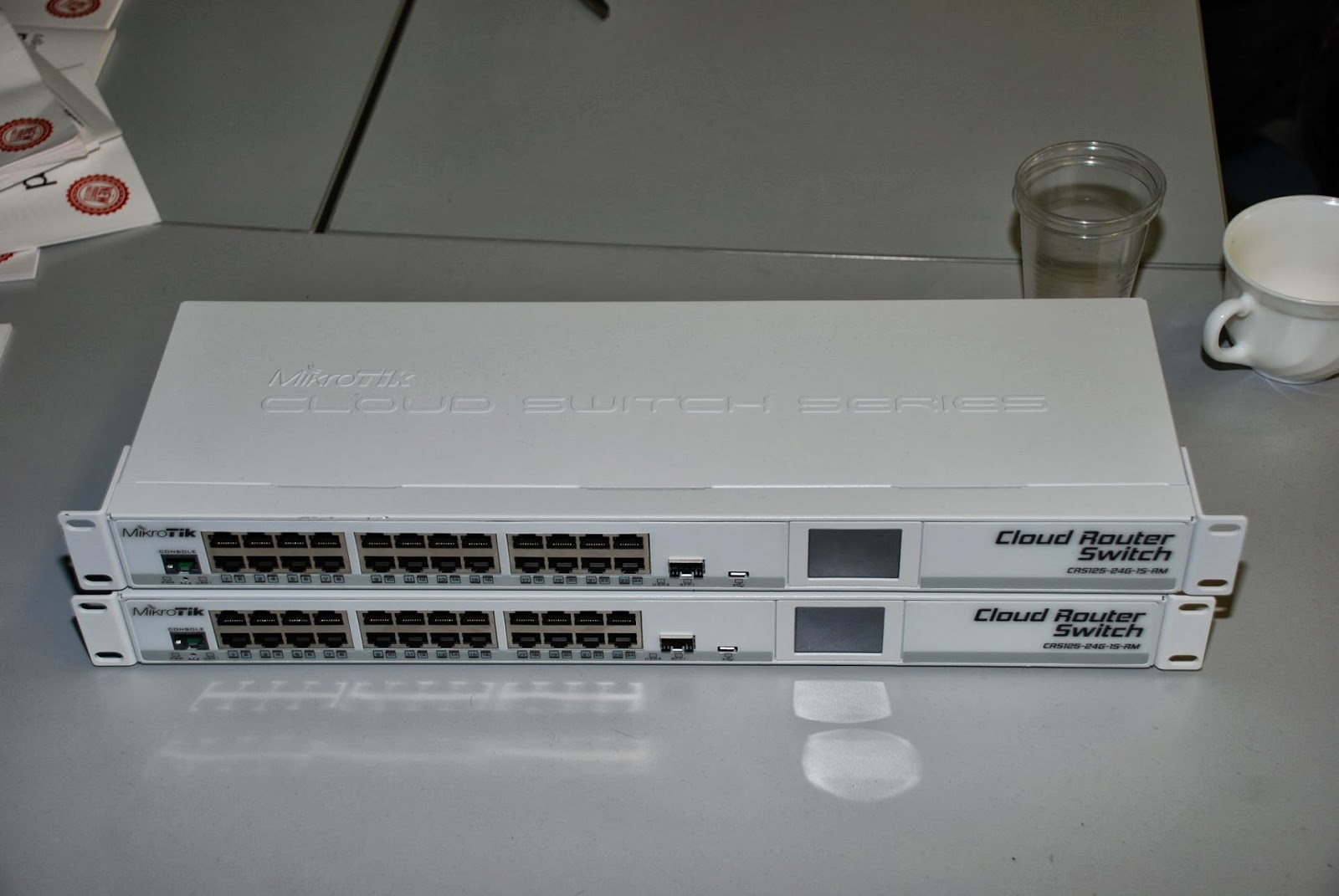 Wificentrum 24 Port Cloud Router Switch Crs125 24g 15 Rm