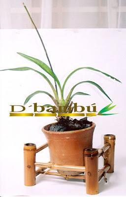 porta-macetas con cañas de bambú-eltallerdejazmin