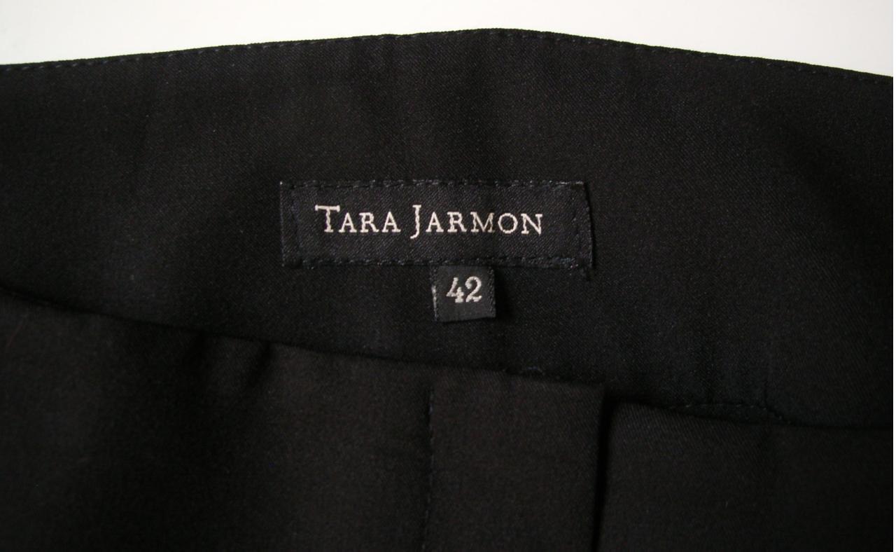 vide dressing Flora : TARA JARMON – Pantalon noir coupe droite – T42