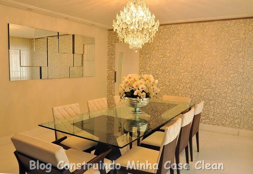 Armario Itatiaia Magazine Luiza ~ Construindo Minha Casa Clean Como Decorar a Sala de Jantar?