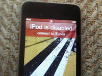 iPod Disabled
