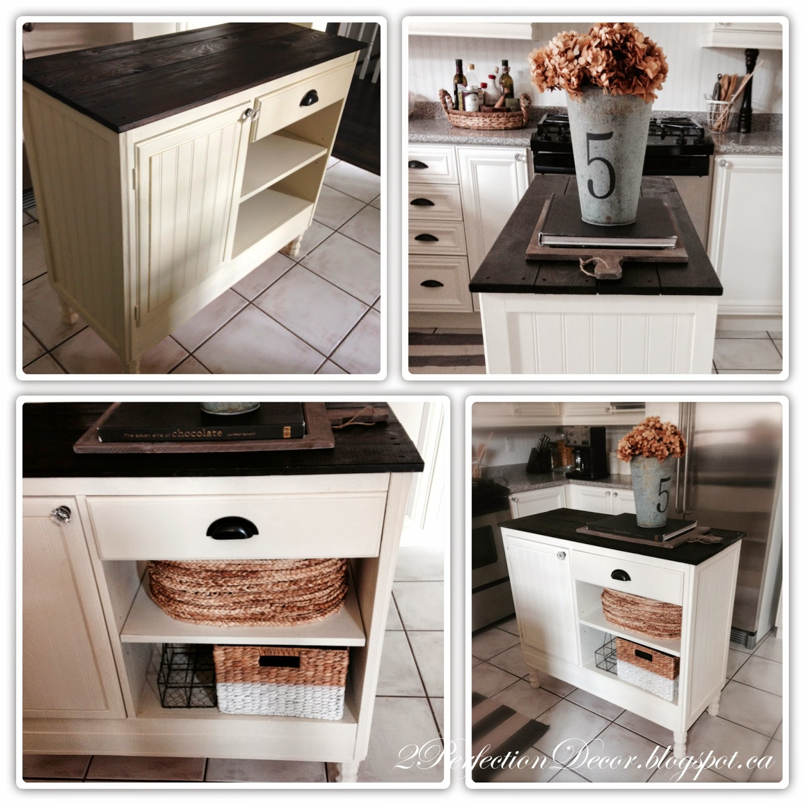 Kitchen Island Made From Old Desk: 2Perfection Decor: How To Transform A Vintage Desk/Console