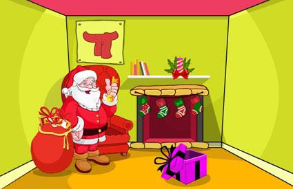Escape from Santa Room