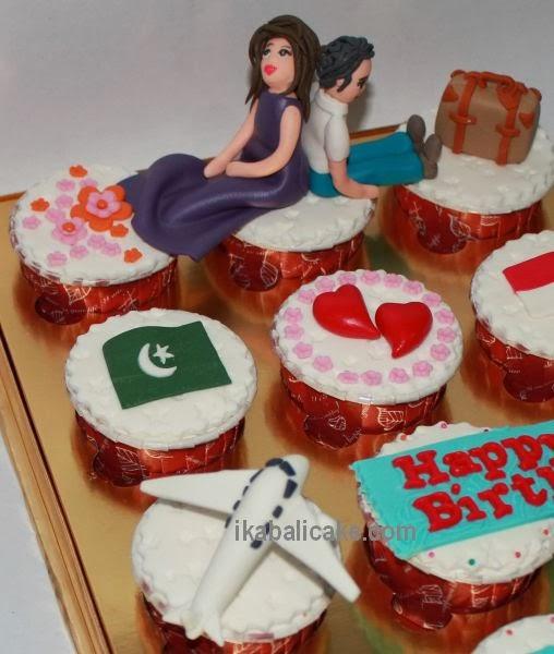 ika bali cupcake figurines travel