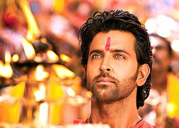 Bollywood actor Hrithik Roshan Praying