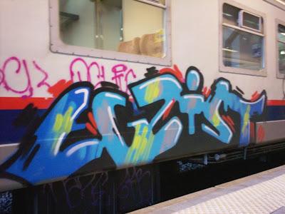 graffiti egzist exist