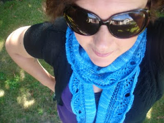 Angel wing scarf by Gabriella Henry. Download your free pattern now.