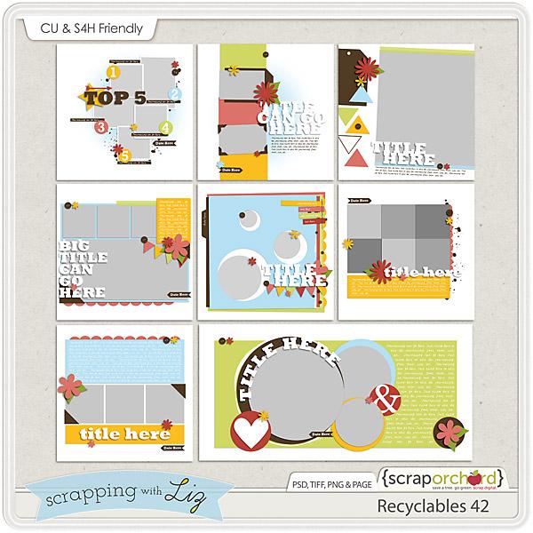 http://scraporchard.com/market/Recyclables-42-Digital-Scrapbook-Templates.html