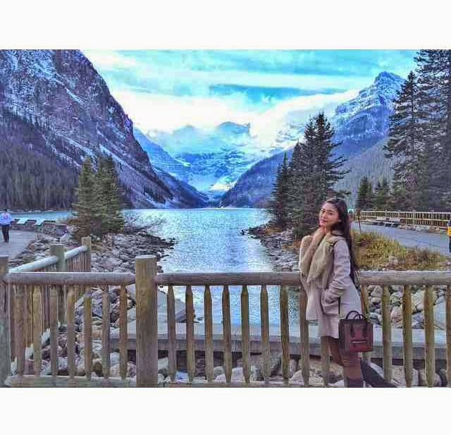 Kim Chiu in Banff, Alberta, Canada