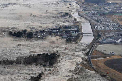 Japan Earthquake triggered tsunami