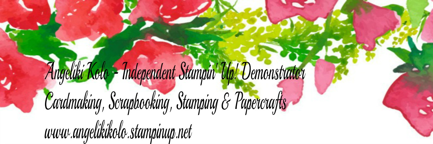 Angeliki Kolo  Independent Stampin' Up! Demonstrator