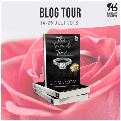 Blog Tour The Second Time (18-19 Juli 2018)