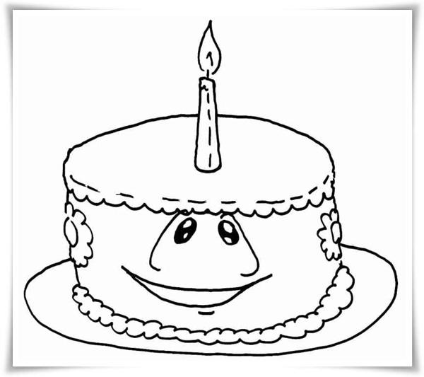 Ausmalbilder Geburtstagsfeier - Malvorlagen Kostenlos zum Ausdrucken