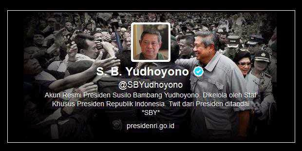 5 Fakta Unik Seputar Akun Twitter Presiden SBY