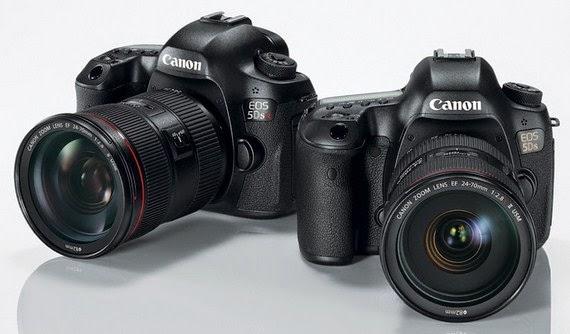Canon Resmikan Kamera DSLR 50 Megapiksel