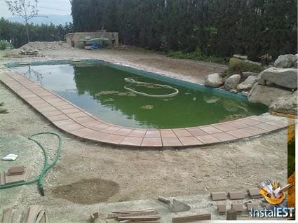 Coronaci n de piscina con instalaci n de sistema de riego for Alberca para riego
