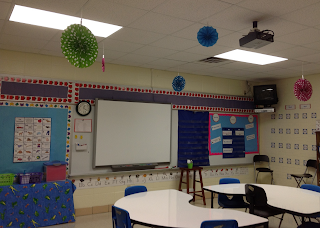 Classroom organization and Set up