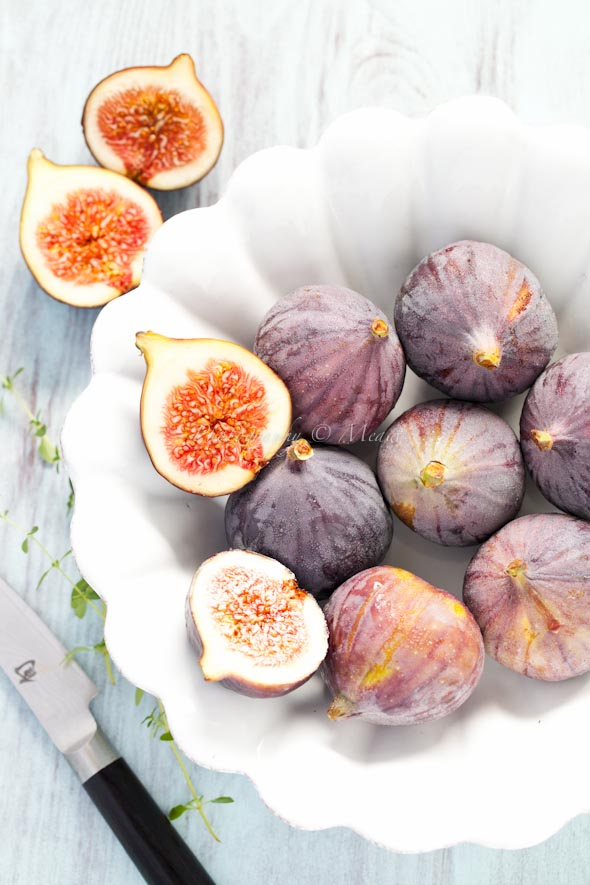 A Kitchen With No View: Caramelized figs with mascarpone ...