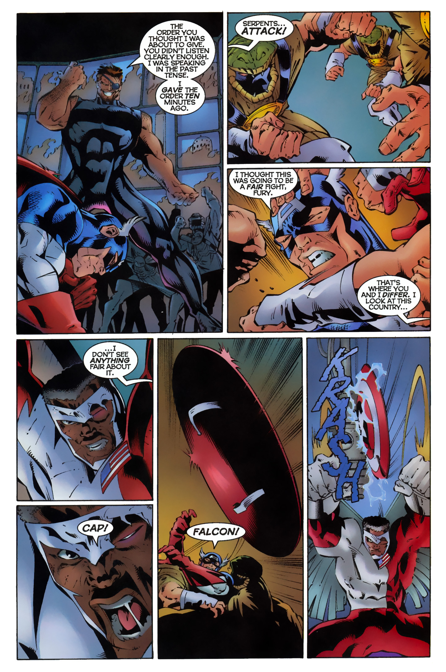 Captain America (1996) Issue #11 #11 - English 14