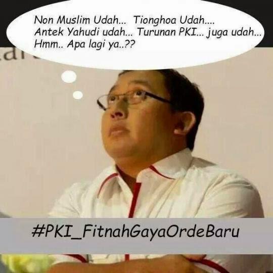 Tukang Fitnah Pendukung Prabowo
