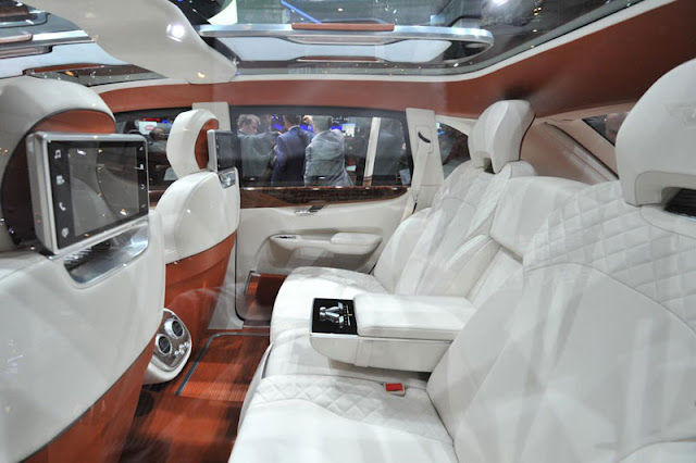 2012 Bentley EXP 9 F Back Interior