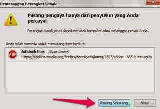 Cara Menghilangkan atau Block Pop Up Iklan