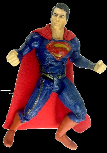 Man of Steel | GeekSummit's Custom Ab Crunch Superman Movie Masters Action Figure