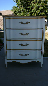 French Provincial Chest of Drawers  *SOLD*
