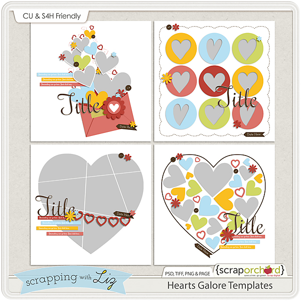 http://scraporchard.com/market/Hearts-Galore-Digital-Scrapbook-Templates.html