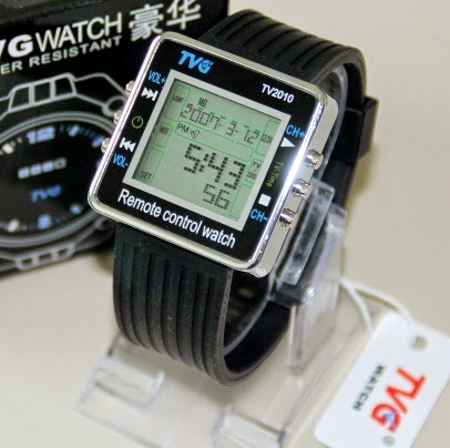 tvg remote control watch original jam tangan remote tv dvd universal
