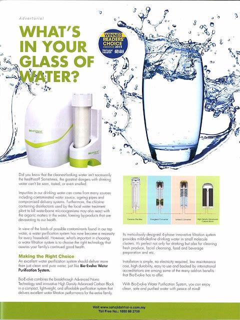 water filter bio evolve