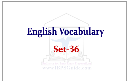 English Vocabulary Set 36 Synonyms Antonyms Usage Reference The