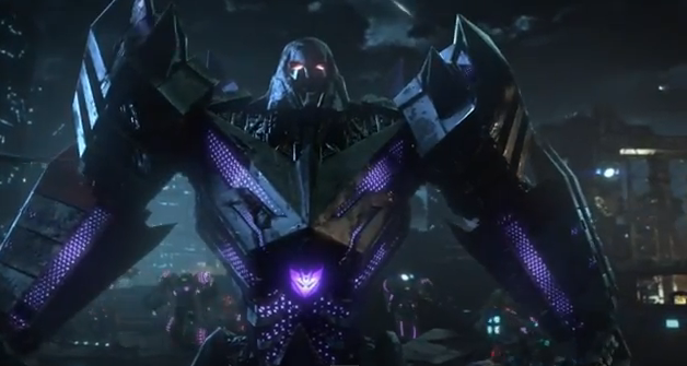 Transformers Fall of Cybertron 2012 cinematic trailer megatron in fall of cybertron cmaquest hasbro activision