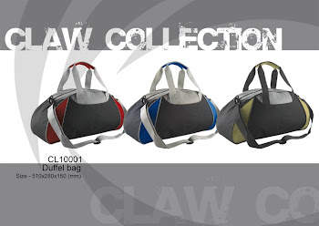 "CENTRUM LINK - NEW - ""CLAW COLLECTION - DUFFLE BAG"""