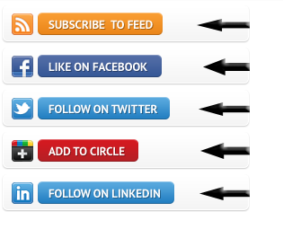 Call To Action Social Media Subscription Box Widget For Blogger